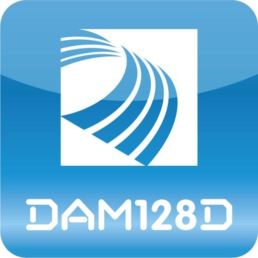 DAM128D Digital Mixer