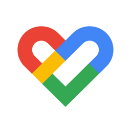 Ícone do app Google Fit: monitor fitness