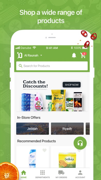 Screenshot for Danube - الدانوب in United Arab Emirates App Store