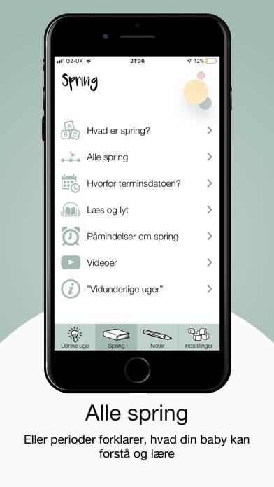 Screenshot for Vidunderlige Uger in Denmark App Store