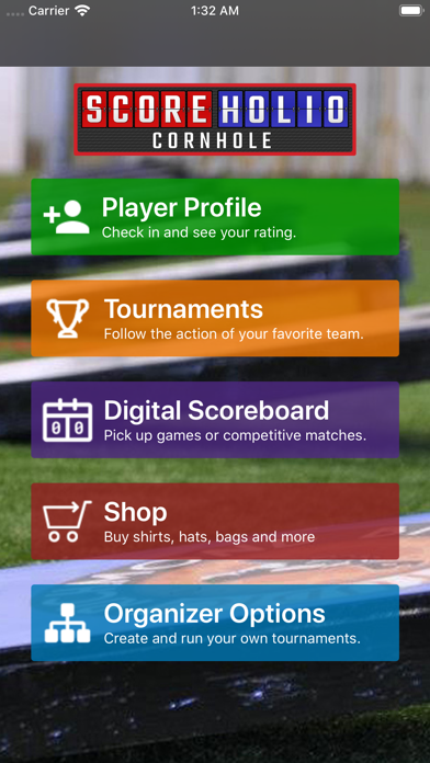 Scoreholio Screenshot