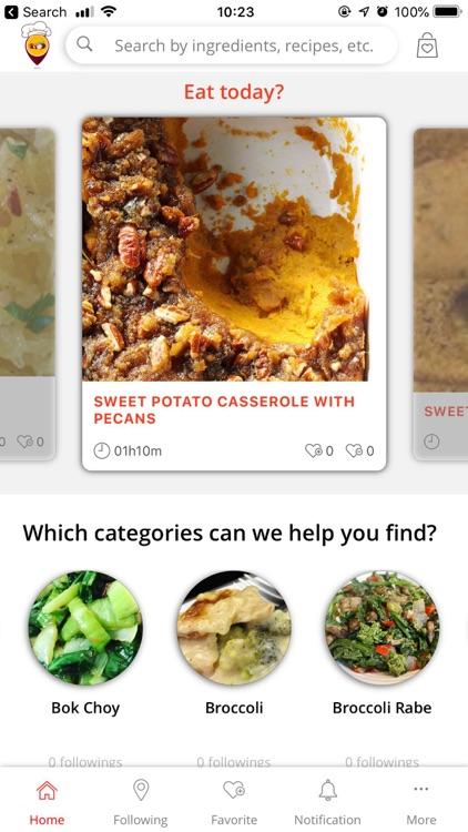 Vegetable Recipe Land screenshot-3