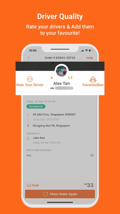 Lalamove - Fast Delivery App screenshot-6