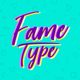 Fame Type: Words on Photos
