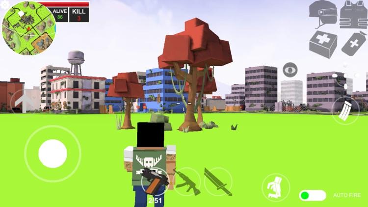 Pixels battle royale screenshot-8