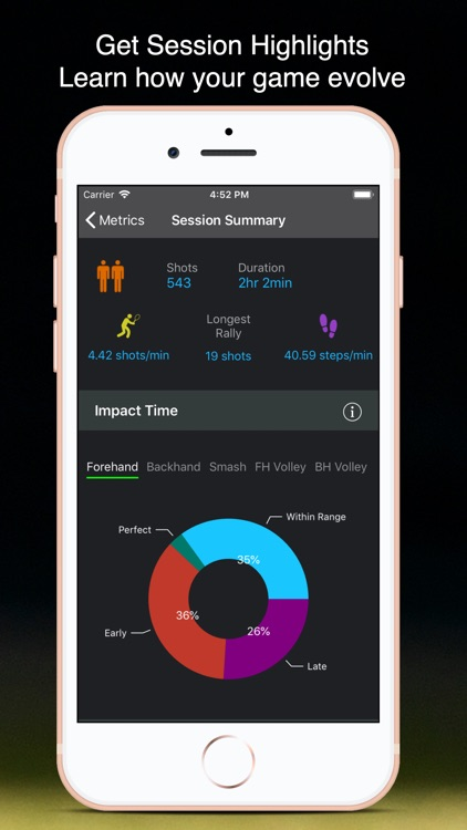 TennisKeeper: Swings & Scores screenshot-4