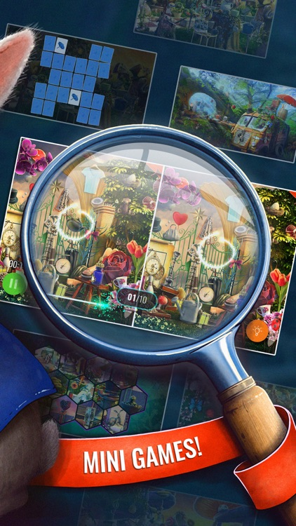 Fairy Tale Game Hidden Objects screenshot-3