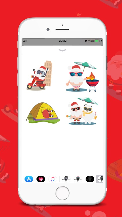 Wise Christmas Sticker screenshot-4