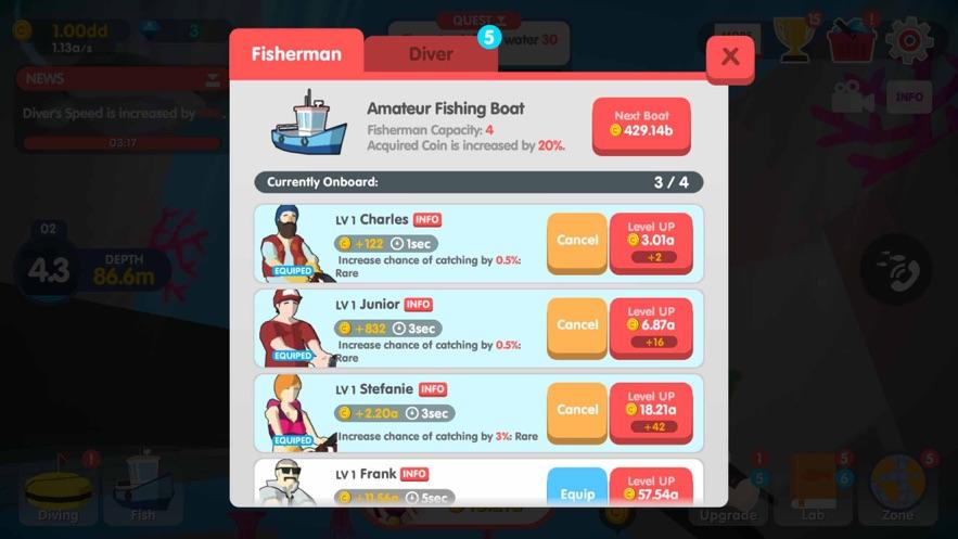 Dream Blue Ocean App 截图