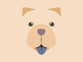 Peach the Chow Chow Stickers