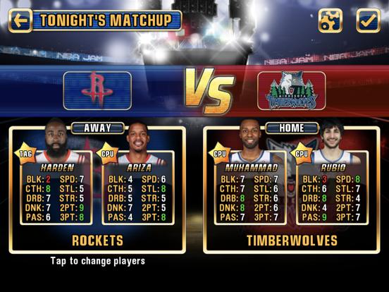 NBA JAM by EA SPORTS™ for iPad screenshot