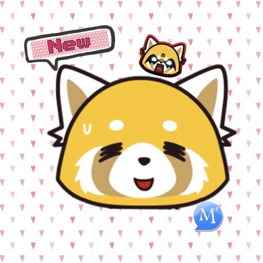 MomentSQ™ Aggretsuko Stickers2