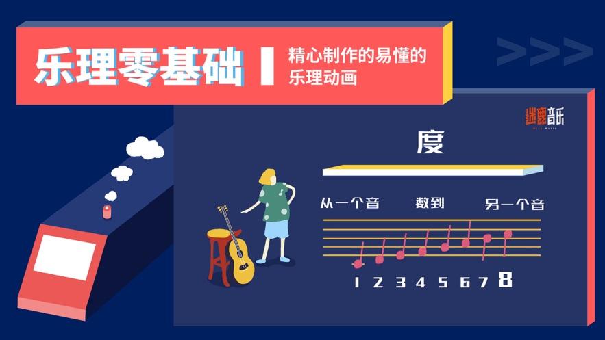 迷鹿音乐「吉他尤克里里」吉他谱乐理教学-4
