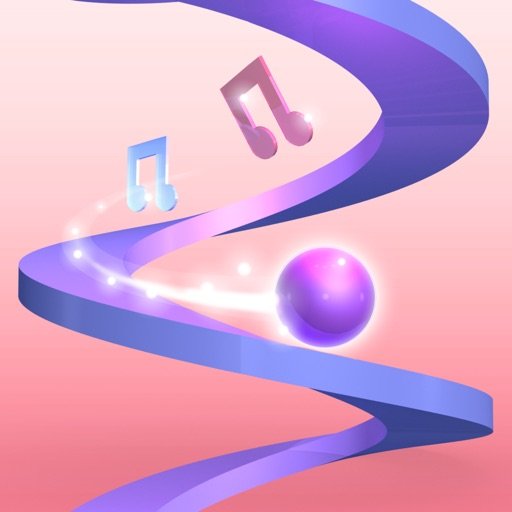 Music Helix Ball Icon