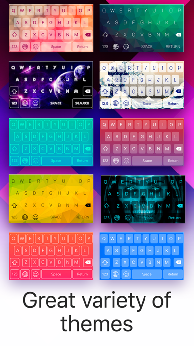 Color Keyboard: Themes & Skins app image