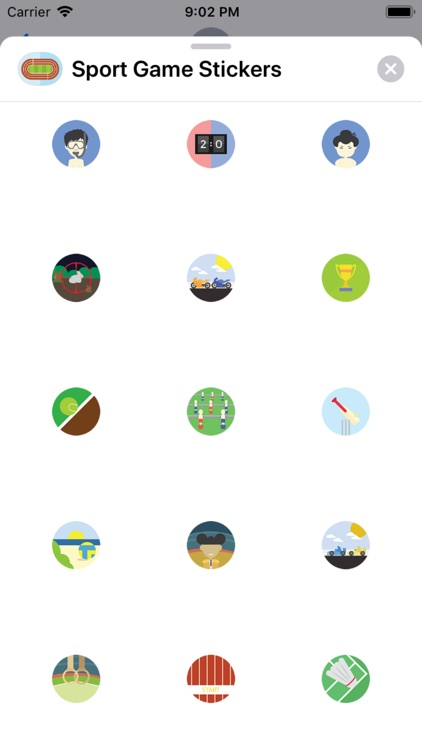 Sport Game Stickers