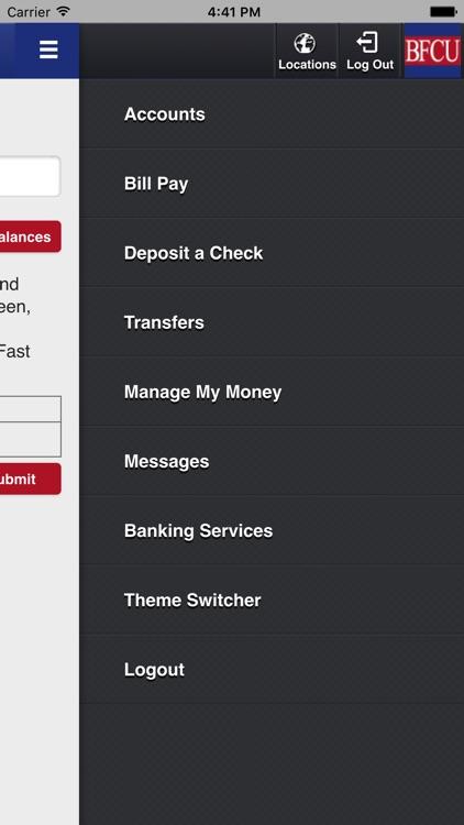BFCU iMobile screenshot-4