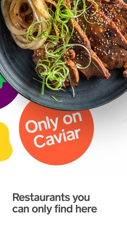Caviar - Local Food Delivery