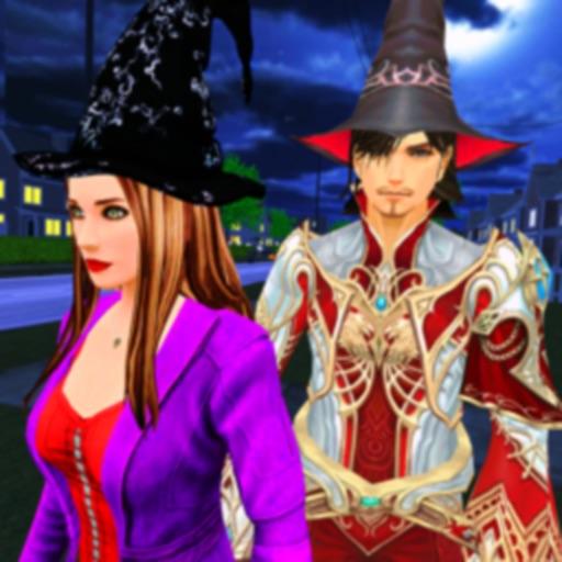 Хэллоуин ведьмы и волшебника