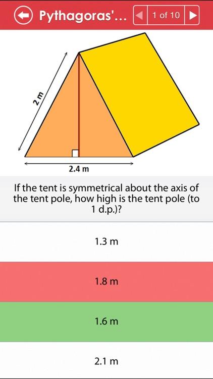 ACT Math : Geometry Lite screenshot-3