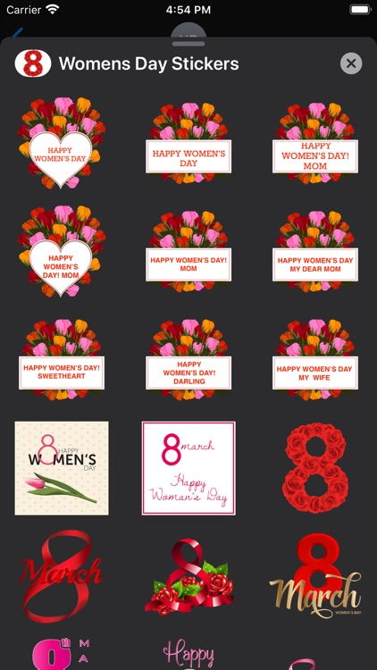 Happy Women's Day Sticker-Pack