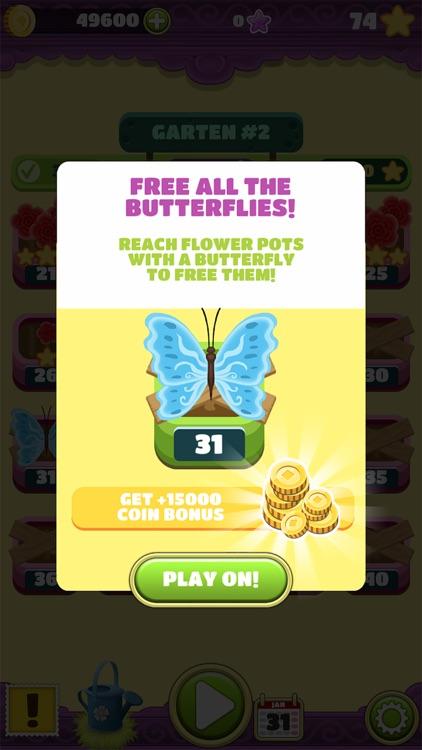 Mahjong Flower Garden Puzzle screenshot-5