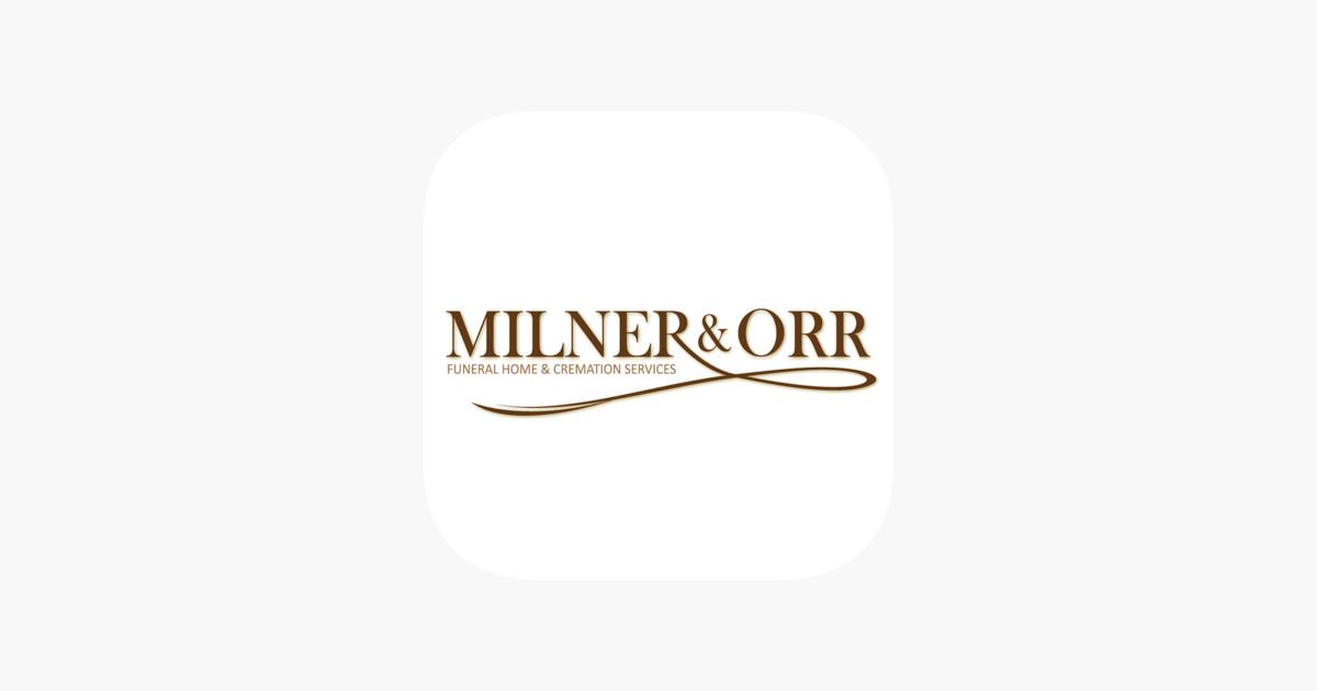 Milner & Orr on the App Store