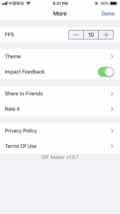 GIF Maker-Create & Edit GIF screenshot-3