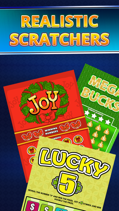 Lottery Scratchers | From App Happy Games LLC | Utakf com apps store