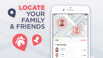 Safe24: Find Friends & Phones Screenshot
