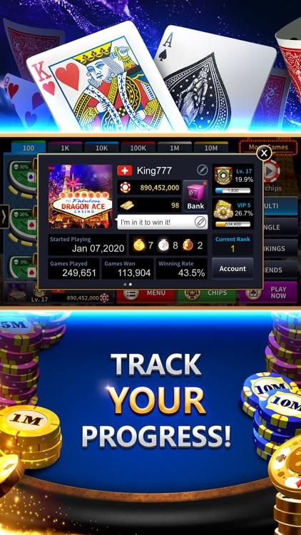 Blackjack 21 Dragon Ace Casino screenshot-4