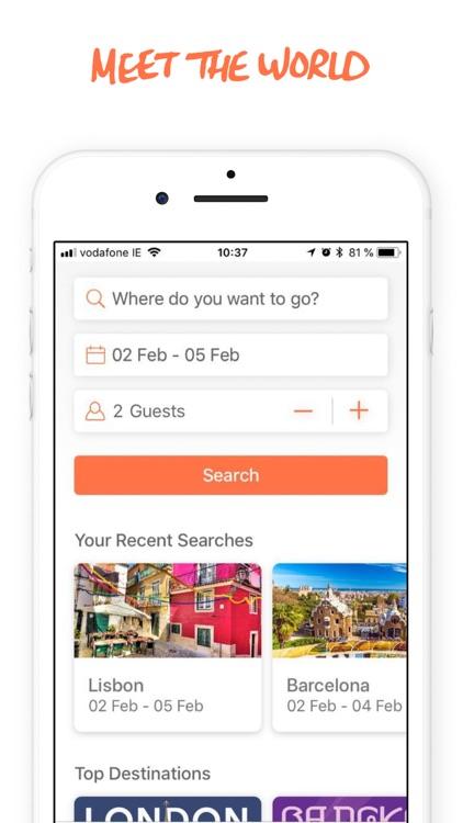 Hostelworld: Hostels & Hotels screenshot-0