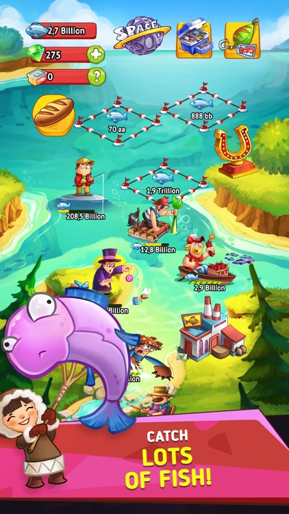 Idle Fish Clicker-tycoon games