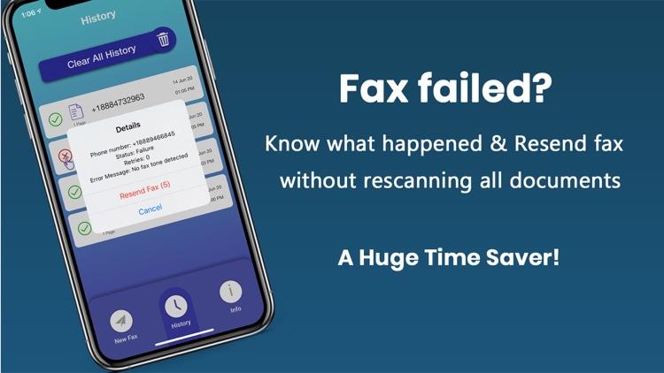 eFax: Send Fax from iPhone screenshot-6