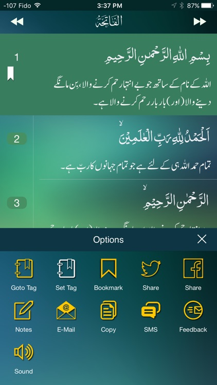 The Holy Qur'an screenshot-1