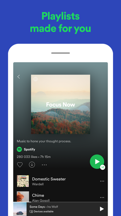 Spotify: Discover new music Screenshot