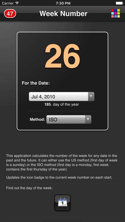 The Week Number screenshot-3