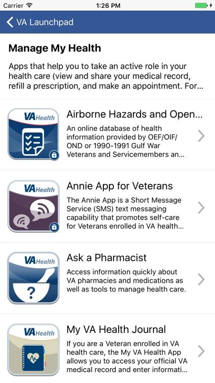 VA Veteran Launchpad screenshot-4