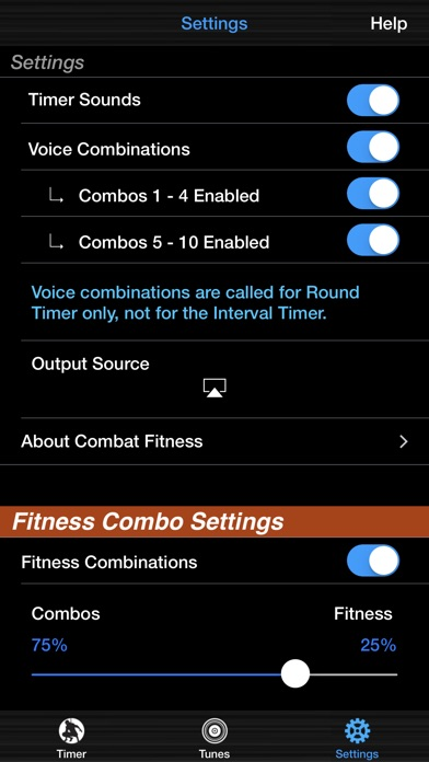 Screenshot for Combat Fitness in South Africa App Store