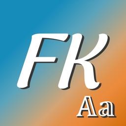 Fonts Keyboard - Cool Fonts