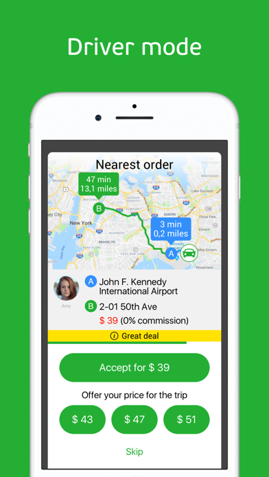 Screenshot for inDriver: Offer your fare in New Zealand App Store