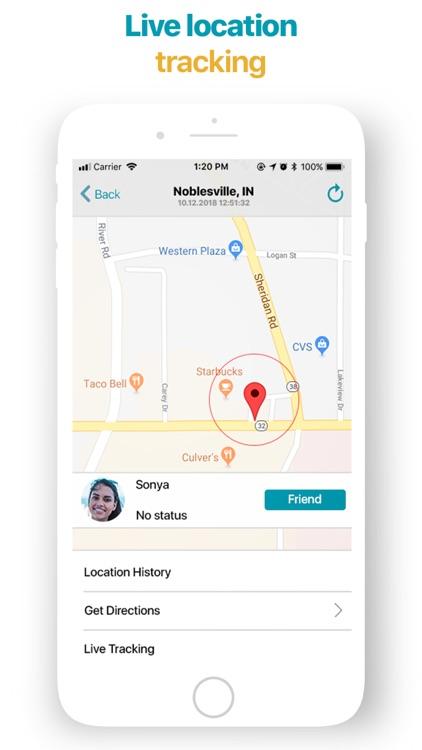 iMapp - Find my Phone, Friends screenshot-5