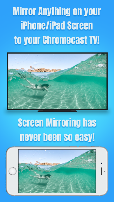 Air Mirror for Chromecast TVのおすすめ画像1