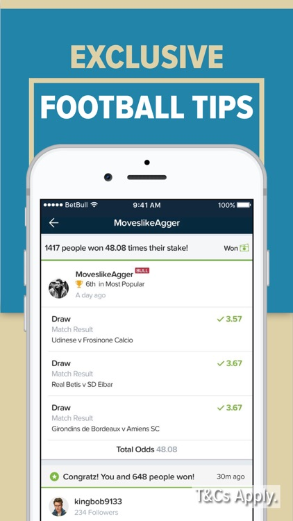 BetBull: Sports Betting & Tips screenshot-7
