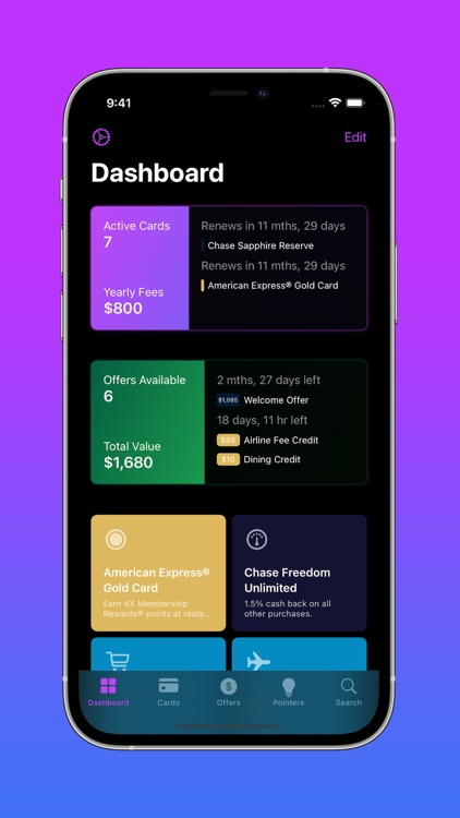 CardPointers for Credit Cards screenshot-3