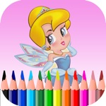 Fairy Toddler Paint Book