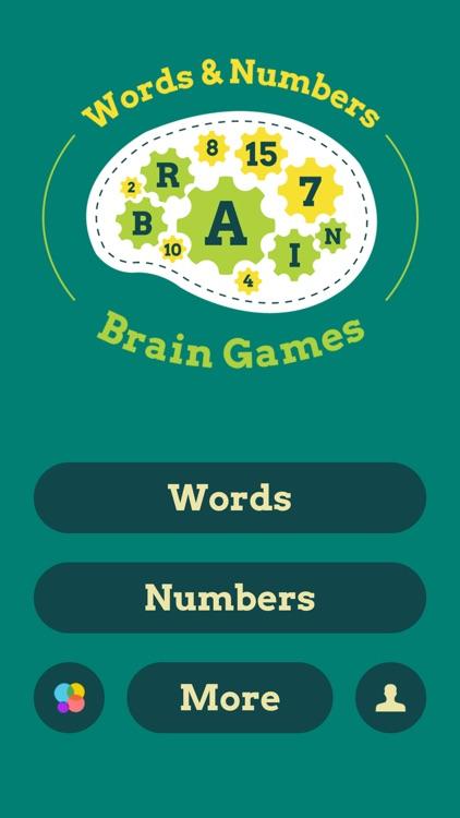 Brain Games : Words & Numbers screenshot-5