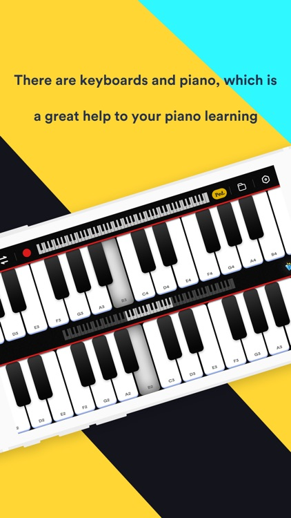 Piano keyboard pro & games app screenshot-5