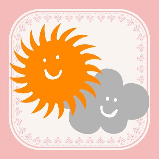 おしゃれ天気 -気温に合ったお天気コーデ&よく当たる天気予報