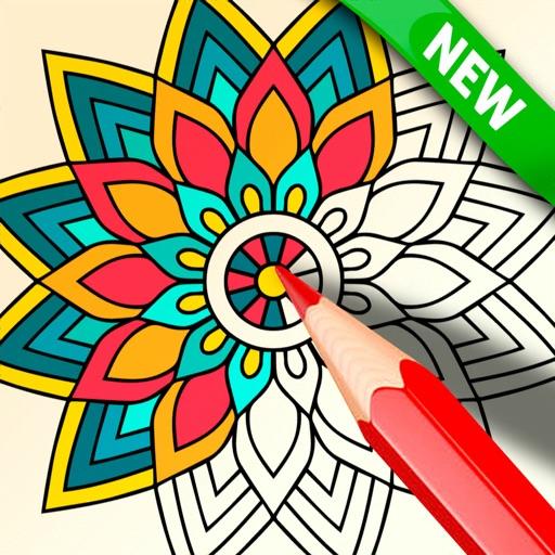 Mandala Coloring 2021